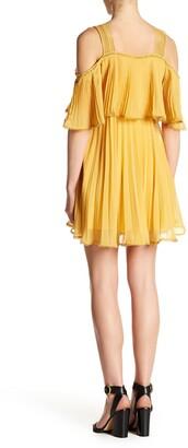 Lucy Paris Pleated Pop Over Dress