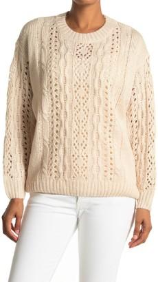 Lush Open Knit Sweater