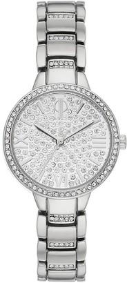 JLO by Jennifer Lopez Women's Crystal Pave Watch