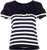 Nk striped knit blouse