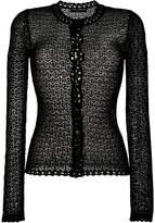 Dolce & Gabbana crochet knit cardigan