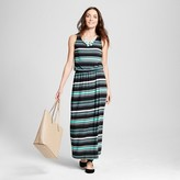 Merona Women's Multi-Stripe Knit Maxi Dress