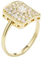 Ila Women's Sloane 14K Yellow Gold & 0.85 Total Ct. Diamond Ring