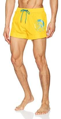 Diesel Men's 0HAQS-22Y Shorts, Yellow 22Y, Large