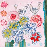 Parvez Taj Bluebirds Close Art Print on Canvas