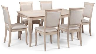 Julian Bowen Set of 2 Lyon Dining Chairs