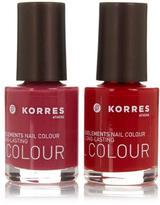 Korres Brights Nail Color Duo