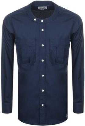 Vivienne Westwood Round Collar Shirt Navy