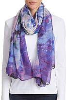 Lord & Taylor Watercolour Floral Scarf
