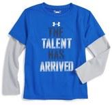 Under Armour The Talent Has Arrived T-Shirt (Toddler Boys & Little Boys)