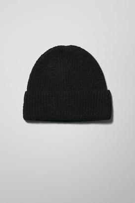 Weekday Mon Knit Beanie - Black