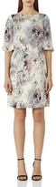 Reiss Oriana Printed Silk Dress