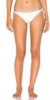Vix Paula Hermanny Solid Long Tie Bikini Bottom