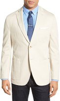 JKT NEW YORK Bond Beige Classic Fit Stretch Cotton Jacket