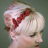 GG's Pin-up Couture Custom Glitter Word Or Name Headband