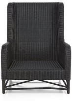 Crate & Barrel Calistoga Wingback Lounge Chair