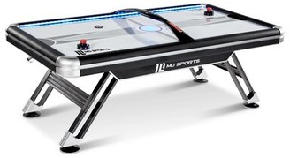 MD Sports Titan 7.5' Four Player Air Hockey Table with Digital Scoreboard and Lights