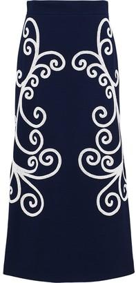 Prada Punto Stoffa knit skirt