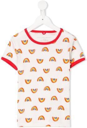 Stella McCartney Kids rainbow print T-shirt
