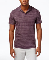 Michael Kors Men's Space-Dye Open-Collar Polo, Only At Macy's