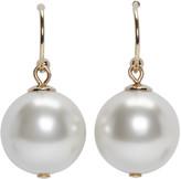 Simone Rocha Ivory Little Pearl Drop Earrings