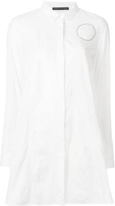 Fabiana Filippi Long Button Up Shirt