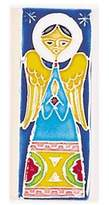 Amalfi by Rangoni Hand Painted Decorative Small Angel Tile From Italy
