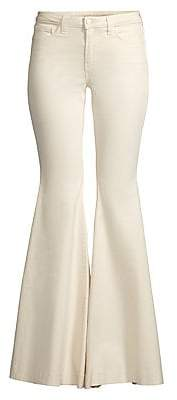 L'Agence Women's Lorde High-Rise Flare Pants