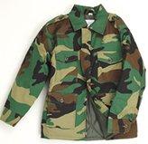 Top Gun Big Boys' Combat Army Clothing Uniform Camo Cadet Jacket Woodland Camo