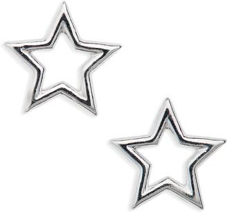 Estella Bartlett Small Open Star Stud Earrings