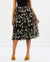 Michelle Embroidered Tulle Skirt