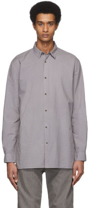 Robert Geller Grey The Dyed Dress Shirt