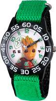 Marvel Guardian Of The Galaxy Boys Green Strap Watch-Wma000129