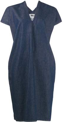 MM6 MAISON MARGIELA denim shift dress