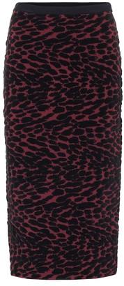 Diane von Furstenberg Vita stretch-velvet skirt
