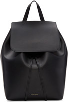 Mansur Gavriel Black Leather Backpack