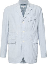 Engineered Garments seersucker stripe blazer - men - Cotton/Polyester - M