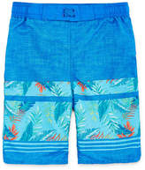 Arizona Tropical Print Swim Trunk - Boys 4-20