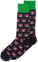 Hot Sox Men's Pirate Skulls Socks
