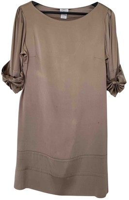 Collette Dinnigan Beige Silk Dress for Women