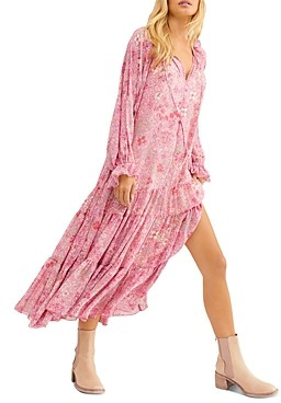 Free People Feeling Groovy Floral Maxi Dress