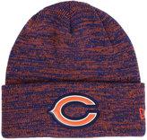 New Era Chicago Bears Beveled Team Knit Hat