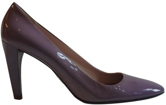Prada Purple Patent leather Heels