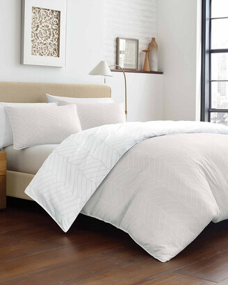 City Scene Demi Chevron Comforter Set