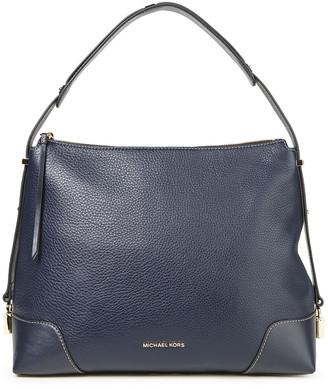 MICHAEL Michael Kors Crosby Pebbled-leather Shoulder Bag