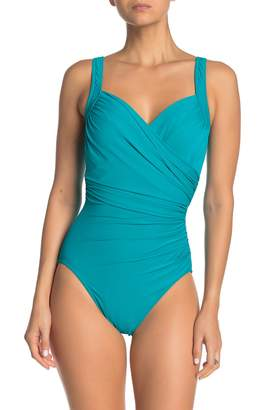Miraclesuit Ruched One-Piece Swimsuit (Regular & Plus Size)
