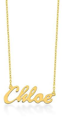 Chloé Monogram Online NP30541-GPSS-Link- 18 in 18 in Personalized Script Name Necklace