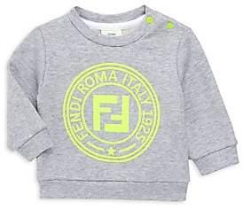 Fendi Baby Boy's Neon Logo Sweatshirt
