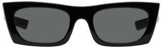 RetroSuperFuture Black Fred Rectangle Sunglasses