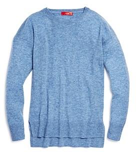 Aqua Girls' Cashmere Sweater, Big Kid - 100% Exclusive